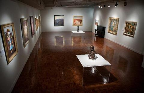 Rockhampton Art Gallery exhibition space